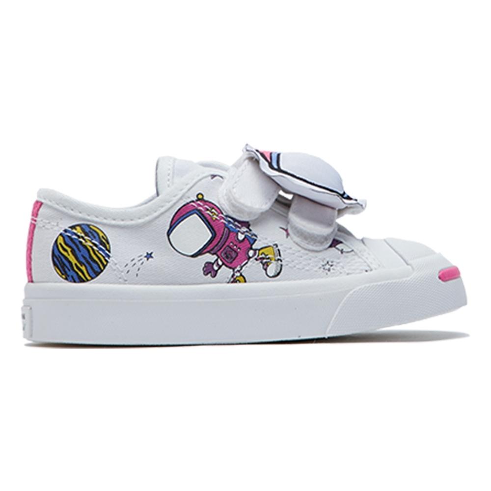 CONVERSE JP 2V OX 小童 低筒休閒鞋 白 765640C