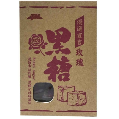 TM 優選宣言-玫瑰黑糖 (225g)