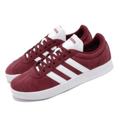 adidas 休閒鞋 VL Court 2.0 麂皮 男鞋