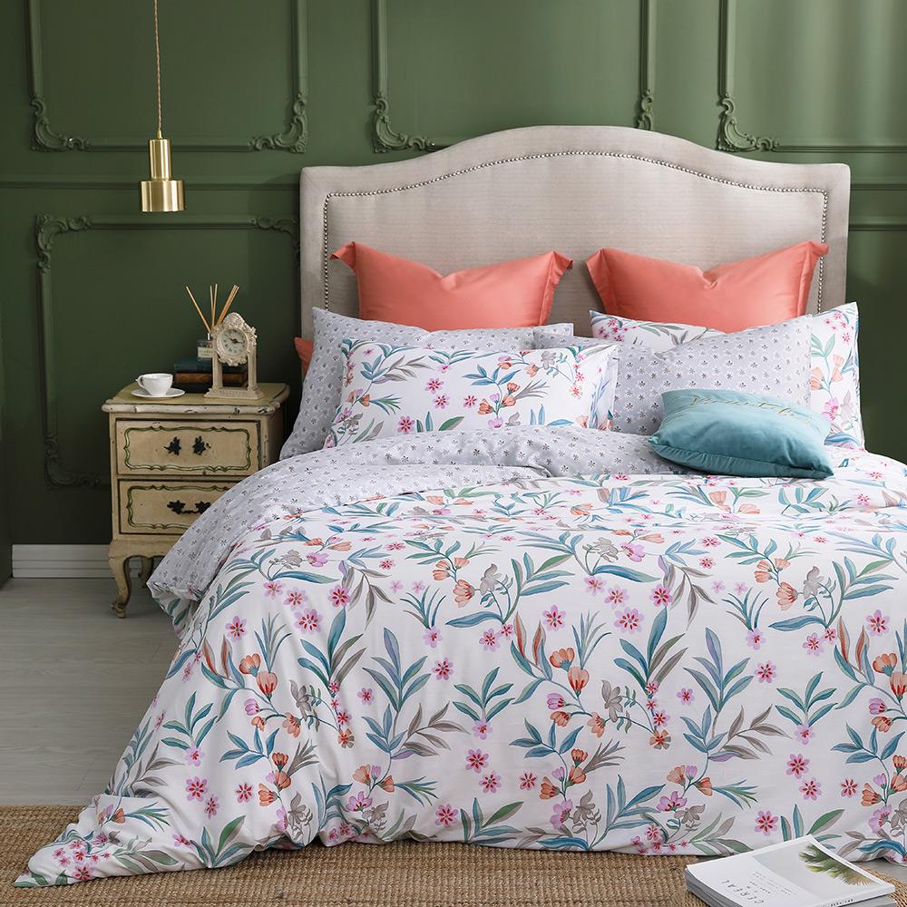 MONTAGUT-埃斯特莊園-100%純棉-兩用被床包組 (雙人)
