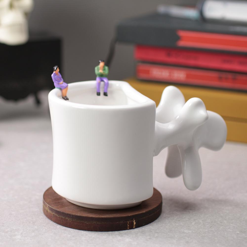 賽先生科學 骨科脊椎造型馬克杯
