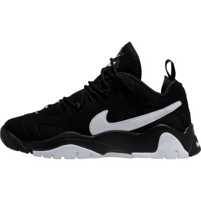 NIKE 運動鞋 慢跑鞋 休閒 健身  男款 黑白 CD7510001 AIR BARRAGE LOW