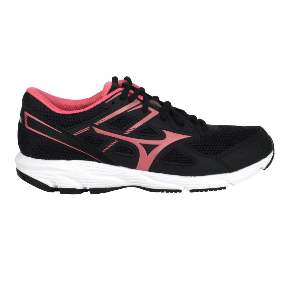 MIZUNO MAXIMIZER 23 女慢跑鞋-WIDE-寬楦 美津濃 K1GA210164 黑粉