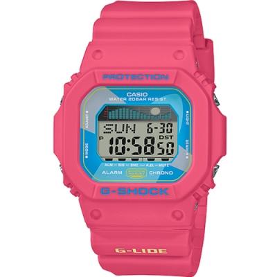 CASIO G-SHOCK夏威夷風潮汐運動錶(GLX-5600VH-4)