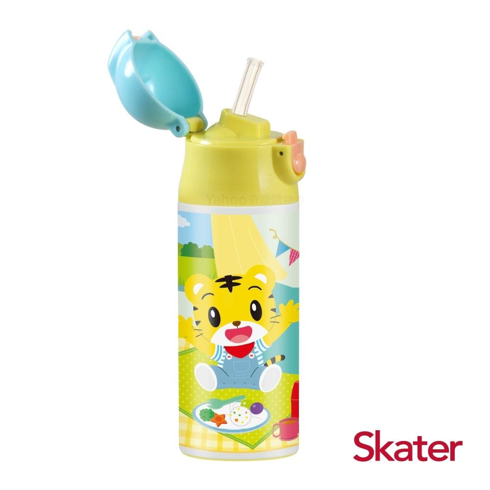 (時時樂限定)Skater吸管不鏽鋼保溫瓶(360ml)巧虎PICNIC