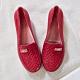韓國KW美鞋館-美麗佳人輕量平底膠鞋-紅色