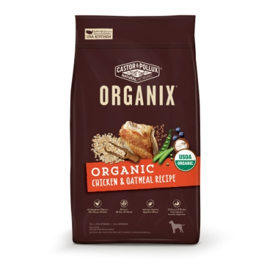Organix 歐奇斯有機飼料[95%有機成犬]-10LB/4.53KG