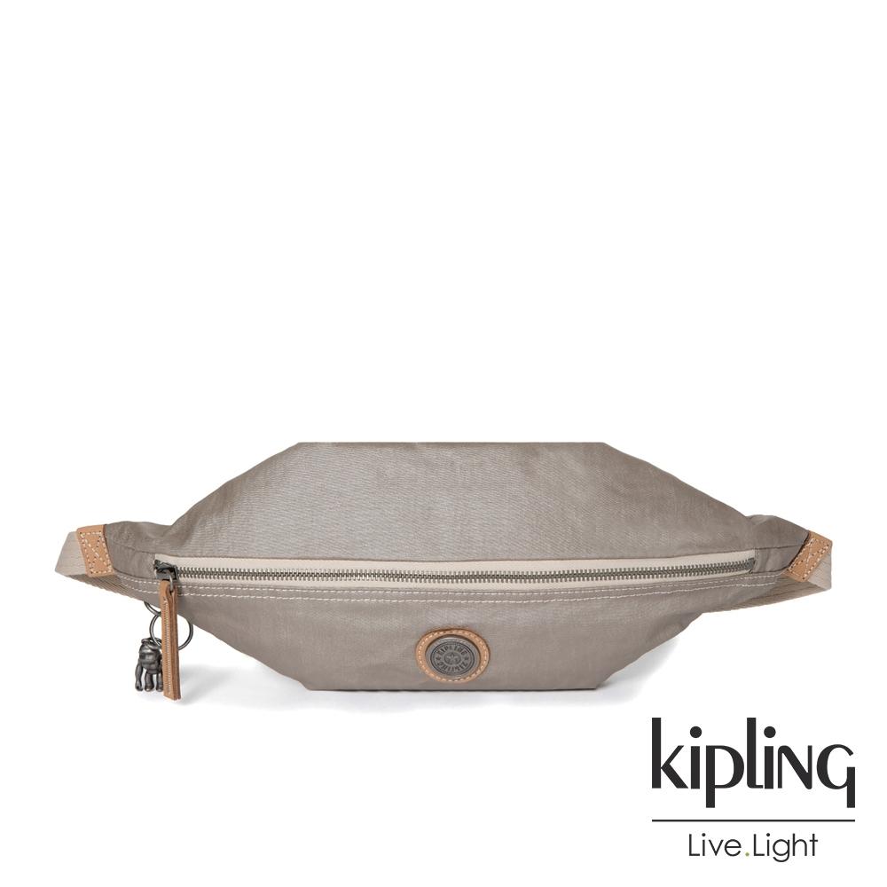 Kipling 邊緣地帶質感霧金六角腰包-YOKU-EDGELAND系列