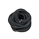 Timberland 黑色牛皮革替換鞋帶 | A1FSN001