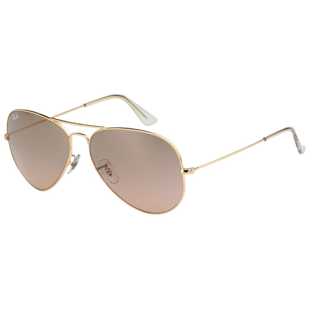 RAY BAN 水銀面 太陽眼鏡 (玫瑰色)RB3025-001#62