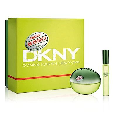 DKNY 渴望青蘋果女性淡香精二件組禮盒 (香精100ml+10ml)