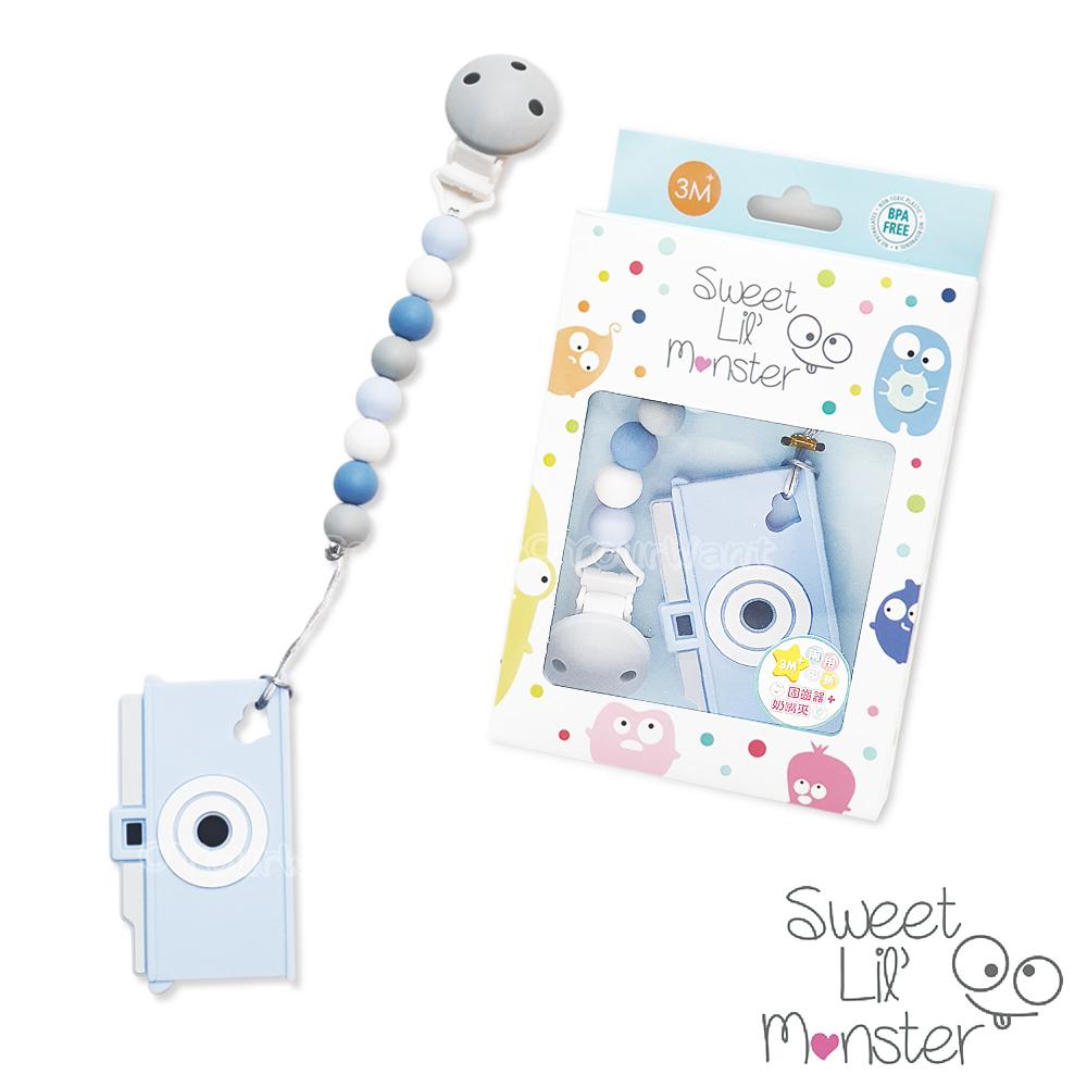 【Sweet Lil Monster】復刻版相機固齒器/奶嘴鍊
