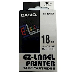 (團購5捲) CASIO 18mm標籤機色帶共9色-(另可任選顏色)