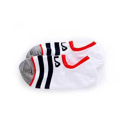 FILA 船型襪-白 SCT-1301-WT
