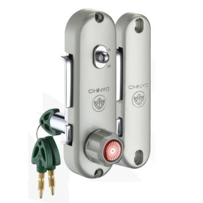 670 青葉牌 高級鋁門 1000型 AT鑰匙 鎖心長度48mm 二代 鋁門平鉤鎖 鎌錠鎖