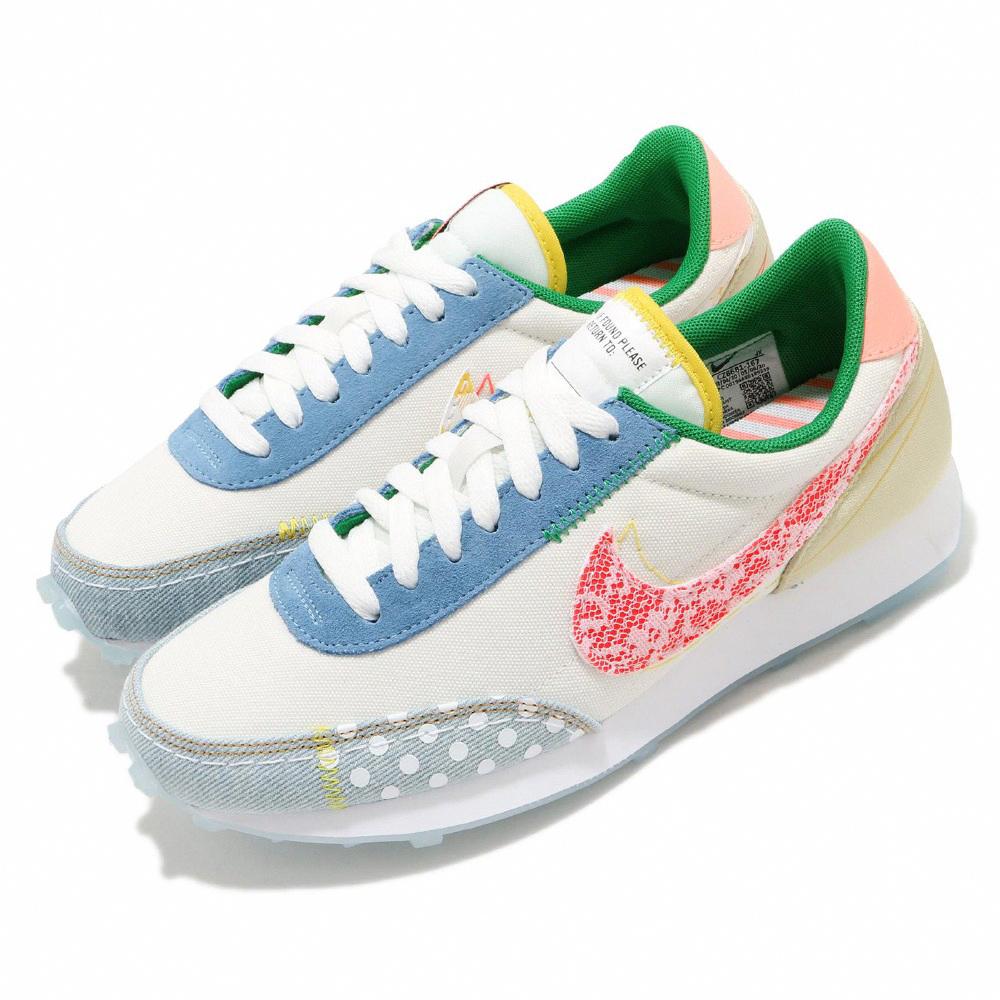 Nike 休閒鞋 Daybreak 運動 女鞋 經典款 拼接 復古 簡約 舒適 穿搭 米白 彩 CZ8681167