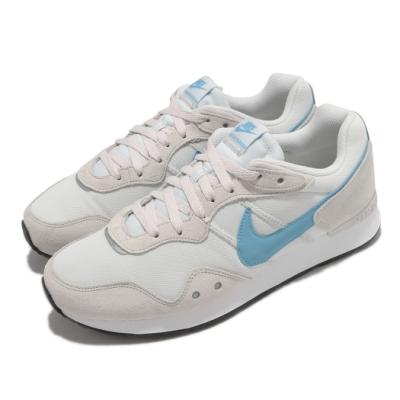 Nike 休閒鞋 Venture Runner 寬楦 男女鞋 基本款 復古鞋型 情侶穿搭 麂皮 簡約 米白 藍 DM8453001