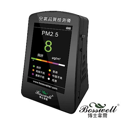 博士韋爾BOSSWELL-PM2-5空氣品質偵測儀