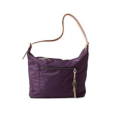 satana - 極簡灑脫大肩包 - 紫水晶