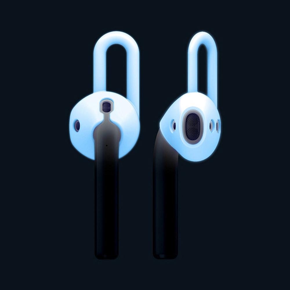 elago AirPods 耳機運動型專用保護套2入組-夜光