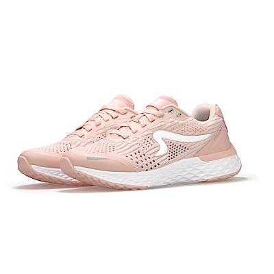 【ZEPRO】女子Q-RUN FEELING系列氫氣槽科技慢跑鞋-粉膚杏