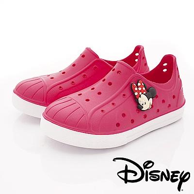 迪士尼童鞋 米妮超輕量洞洞鞋款 ON18187桃(中小童段)