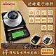 AKIRA正晃行-咖啡計時電子磅秤SC-3典雅黑色(萬用料理秤附隔熱墊和托盤)-速 product thumbnail 1