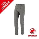【Mammut】Trekkers2.0 防潑長褲 鈦金灰 男款#1021-00410