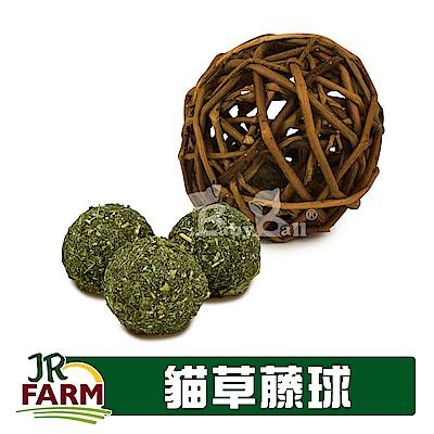 德國JR FARM-巴伐利亞潔齒貓草藤球30g/舒壓貓薄荷玩具-20410