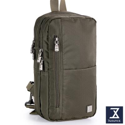 74盎司 SWAG 雙層尼龍直式胸包[G-1049-SW-M]綠