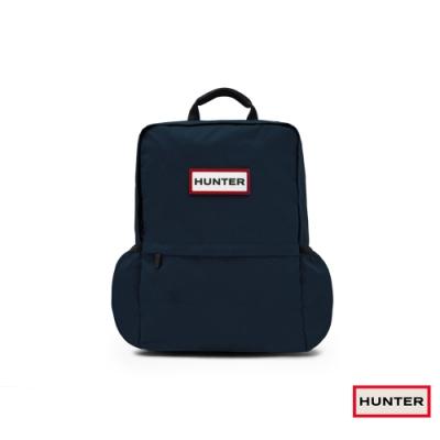 HUNTER - 大型尼龍後背包 - 海軍藍