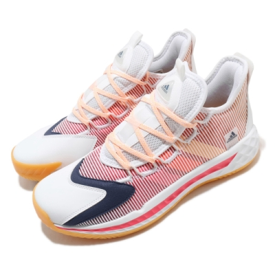 adidas 籃球鞋 Pro BOOST GCA Low 男鞋 愛迪達 低筒 緩震 運動 透氣 白 紅 藍 FX9239