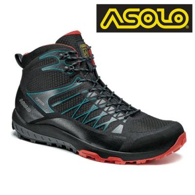 ASOLO 男款 GTX 中筒越野疾行健走鞋 GRID GV MID A40516/A392 / 城市綠洲