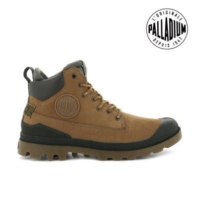 PALLADIUM PAMPA SC OUTSIDER WP+皮革防水靴-中性-土黃