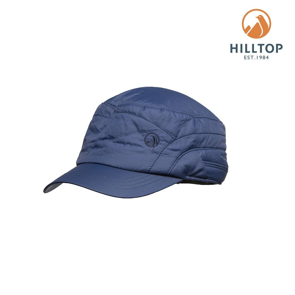 【hilltop山頂鳥】3M保暖科技棉遮陽帽H41XW3藍