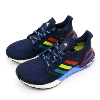 Adidas ULTRABOOST 20 City Pack Hype 男 慢跑鞋 紅白藍