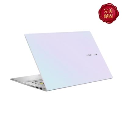 (時時樂1TB硬碟組) ASUS M433IA 14吋筆電 (R5-4500U/8G/512G SSD/VivoBook/幻彩白)