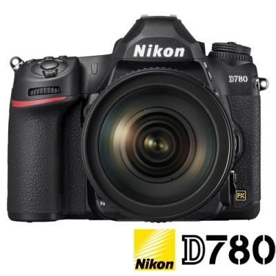 ★贈禮券+128GB★ NIKON D780 KIT (公司貨) 附 24-120mm F4 全片幅數位單眼相機 4K錄影 WIFI傳輸