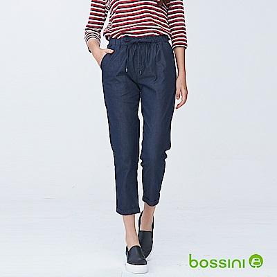bossini女裝-輕鬆長褲02霧靛藍