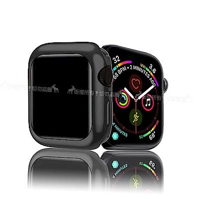 XUNDD 訊迪 Apple Watch 4 (44mm) 全包金屬色防摔軟殼 (宇宙黑)