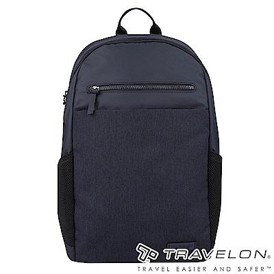 Travelon美國防盜包 METRO商務休閒旅遊後背包TL-43412深藍