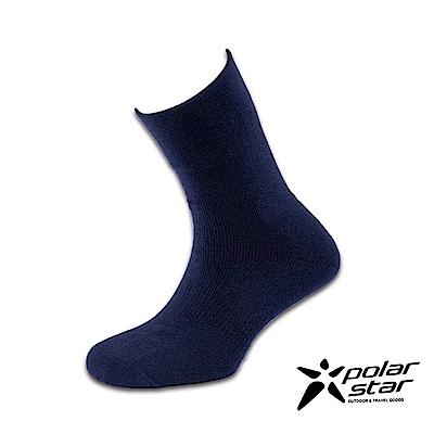 PolarStar 台灣製造 羊毛保暖紳士襪 (3入組)『黑藍』P16618 MIT