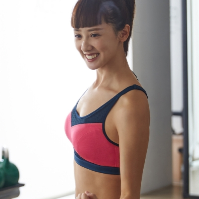 蕾黛絲-LadieSport好運動 Level3 釋壓背心 M-EEL 律動紅