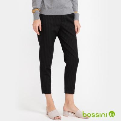 bossini女裝-彈性長褲02深灰
