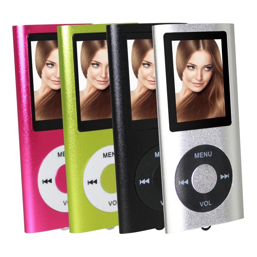 超薄炫彩1.8吋插卡式MP3/MP4隨身聽