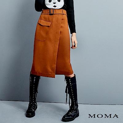 MOMA 金屬環腰帶一片裙