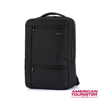 AT美國旅行者 Marion 簡約智慧型袖套筆電後背包15.6吋(黑)