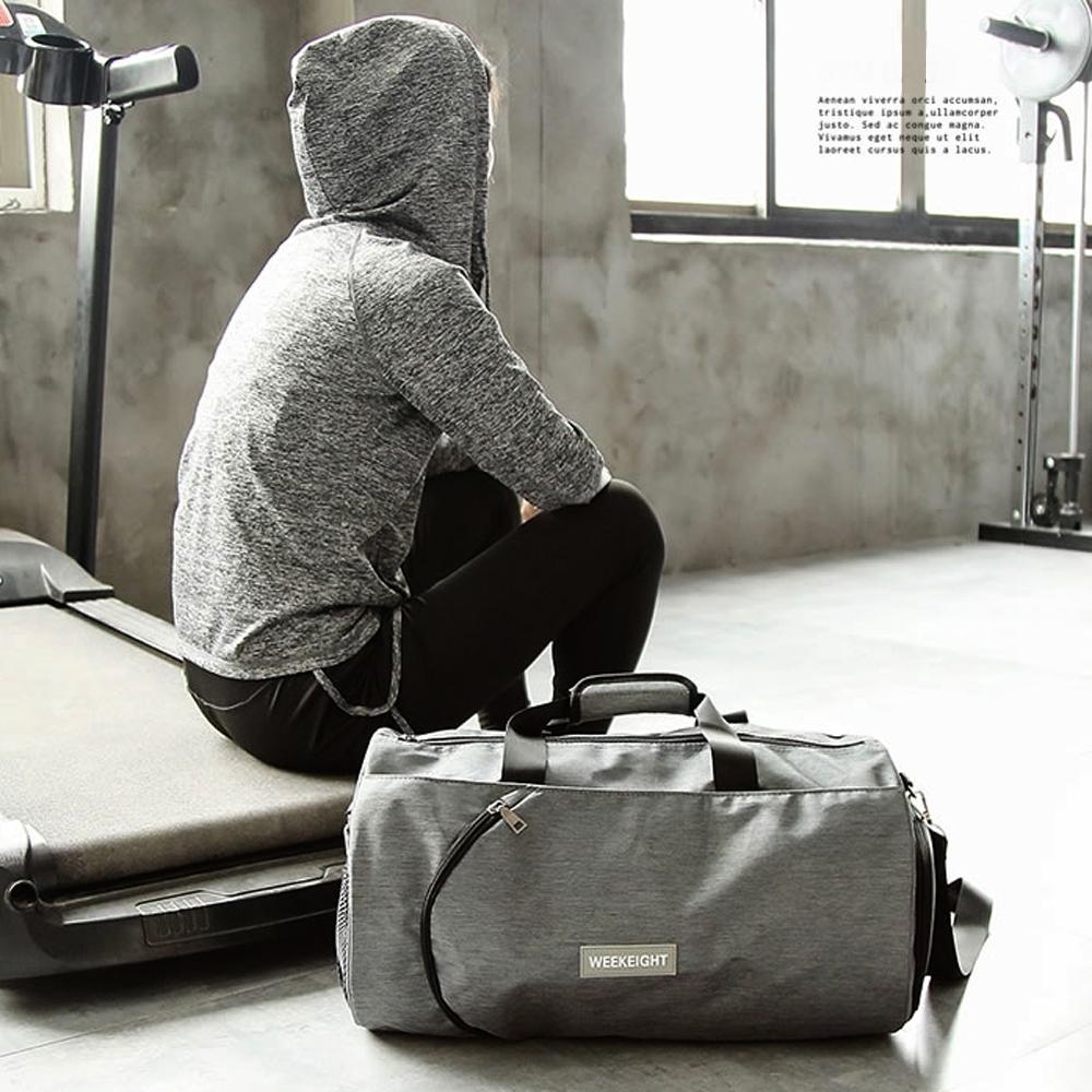 E.City_大容量圓筒旅行運動健身包