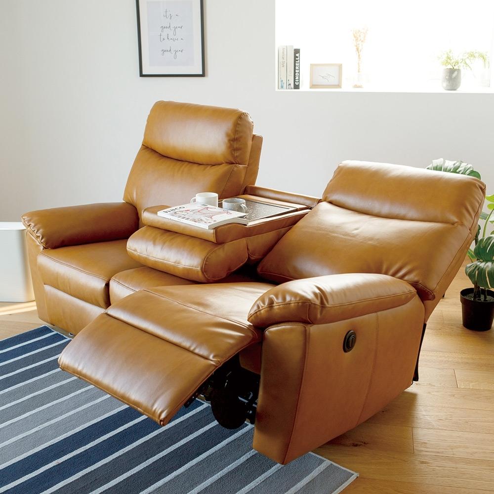 完美主義 Vega 三人電動皮沙發椅/可躺式電動沙發(2色)-DIY