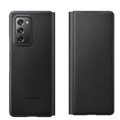 SAMSUNG Galaxy Z Fold2 皮革翻頁式皮套